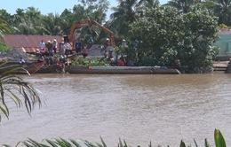 Va chạm giao thông đường thủy, một người mất tích tại Vĩnh Long