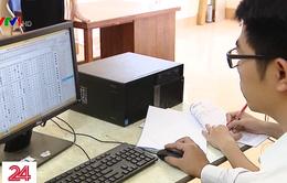Nhiều băn khoăn khi thi THPT Quốc gia trên máy tính