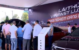 Vinfast tổ chức lái thử xe Lux tại Hà Nội