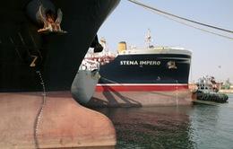 Tàu chở dầu Stena Impero cập cảng Dubai