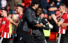 """Những con số """"biết nói"""" sau chiến thắng chật vật của Liverpool trước tân binh Premier League"""