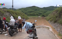 Mưa lũ chia cắt nhiều địa phương tại Quảng Trị