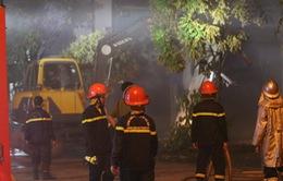 Hà Nội: Đã khống chế được đám cháy tại Khu công nghiệp Ngọc Hồi