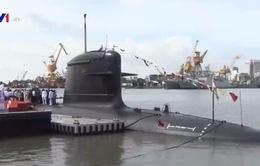 Hải quân Ấn Độ giới thiệu tàu ngầm mới