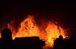 Hỏa hoạn nhà máy ở Trung Quốc
