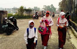 Indonesia: Khói mù thuyên giảm, nhiều trường học mở cửa trở lại