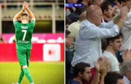 """""""Lão tướng"""" Ribery nhận vinh dự khó tin tại San Siro"""