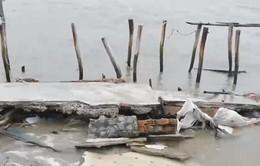 Kiên Giang chi 15 tỷ đồng hàn đê biển bị vỡ