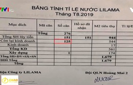 Hà Nội: Hơn 100 hộ dân phải dùng nước sinh hoạt giá cao ngất ngưởng