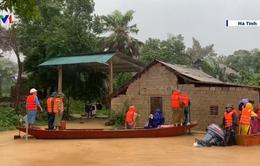 Hà Tĩnh: Mưa lũ, 7 người đi rừng chưa về được
