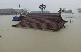 """Hình ảnh ngập lụt kinh hoàng ở """"rốn lũ"""" miền Trung"""