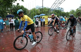 Chặng 5 Giải xe đạp Quốc tế VTV Cúp Tôn Hoa Sen 2019: Mưa bão lớn khiến chặng đua buộc phải hủy