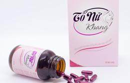 Thực phẩm bảo vệ sức khỏe Tố Nữ Khang giúp phụ nữ gìn giữ nét xuân