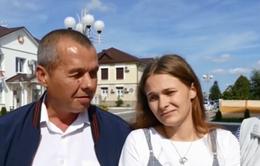 Cô gái Belarus đoàn tụ với gia đình sau 20 năm thất lạc