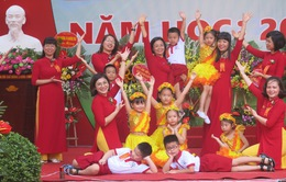 Rộn ràng không khí khai giảng năm học mới tại Hà Nội