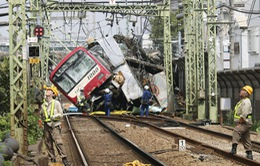 Tai nạn xe lửa ở Nhật Bản khiến hàng chục người bị thương