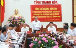 Tiếp tục đẩy mạnh cải cách hành chính tại Thanh Hóa