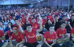 Không khí sau trận đấu vòng loại World Cup giữa Việt Nam - Thái Lan