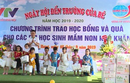 Quỹ Tấm lòng Việt chung vui ngày tựu trường cùng các em nhỏ tỉnh Hải Dương