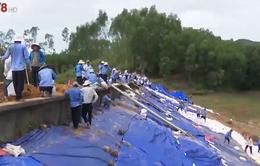 An toàn hồ đập mùa mưa bão