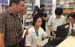 Nhà thuốc Bệnh viện đa khoa Hồng Ngọc vi phạm việc cập nhật dữ liệu thuốc