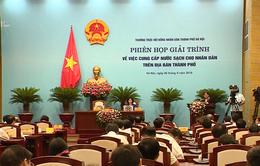 Hà Nội vẫn còn 6/11 dự án cấp nước sạch chậm triển khai