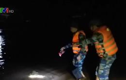 7 ngư dân gặp nạn trên biển Quảng Bình