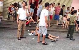 Hà Nội: Nổ ở Linh Đàm, 2 người bị thương