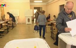 Nga bắt đầu bầu cử địa phương