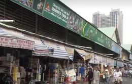 TP.HCM: Chậm di dời các khu chợ hóa chất, hương liệu