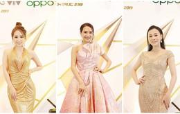 """Thảm đỏ VTV Awards: """"Tiểu tam"""" Quỳnh Nga quyến rũ hút mắt, Nhã Phương khoe sắc với style công chúa"""