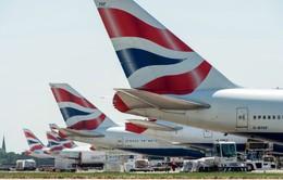 British Airways hủy bay nội địa vào ngày 27/9 vì đình công