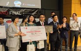 Dự án Medlink giành ngôi quán quân của VietChallenge 2019
