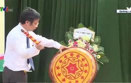"""Quảng Bình: Nhiều trường khai giảng """"bù"""" sau lũ"""