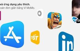 MoMo có thể được dùng thanh toán cho App Store