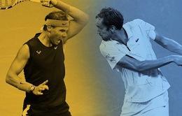 Chung kết US Open: Nadal và Medvedev đã chơi một thứ quần vợt không tưởng