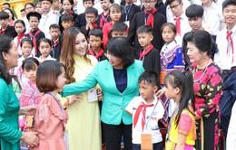 Phó Chủ tịch nước Đặng Thị Ngọc Thịnh gặp mặt Đoàn trẻ em vượt khó vươn lên