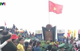 Lễ chào cờ đón năm mới trên điểm cực Đông của Tổ quốc