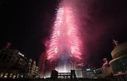 Ngất ngây với đại tiệc pháo hoa mừng năm mới 2020 ở Trung Đông