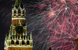 Hàng nghìn người dân Nga đổ ra đường đón năm mới 2020