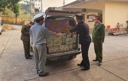 Ngăn chặn gần 2.000 sản phẩm thực phẩm nhập lậu qua Lạng Sơn