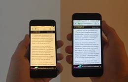 Màn hình vàng Night Shift trên iPhone thực chất không giúp bảo vệ mắt