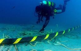 Cáp quang biển AAG dự kiến khắc phục xong trước Tết Nguyên đán