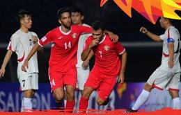 U23 CHDCND Triều Tiên 1–2 U23 Jordan: Rượt đuổi tỉ số kịch tính!
