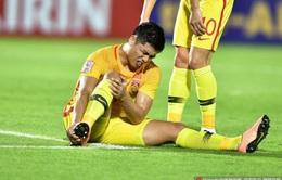 Tiền đạo số 1 U23 Trung Quốc chính thức nói lời chia tay VCK U23 châu Á 2020