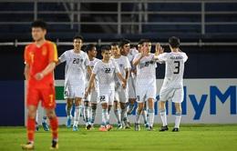 U23 Trung Quốc 0-2 U23 Uzbekistan: Thua 2 trận, U23 Trung Quốc chính thức bị loại sớm