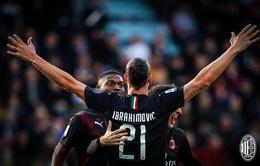 Kết quả, bảng xếp hạng VĐQG Italia Serie A vòng 19: Inter Milan 1-0 Atalanta, Cagliari 0-2 AC Milan