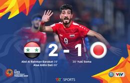 VIDEO Highlights: U23 Syria 2-1 U23 Nhật Bản (Bảng B VCK U23 châu Á 2020)