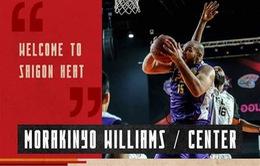 Saigon Heat ký hợp đồng với trung phong Morakinyo Williams