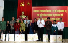 Phó Thủ tướng Trương Hòa Bình thăm, chúc Tết tại Đắk Rông, Quảng Trị